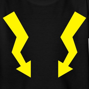 Flashes - Lightning :-: - Teenage T-shirt