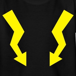 Flashes - Lightning :-: - T-shirt tonåring