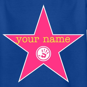 walk of fame + your name :-: - T-shirt Ado