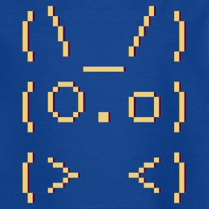 ASCII-art: bunny :-: - Teenager-T-shirt