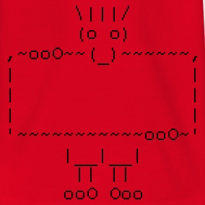 ascii art: troll + your text :-: - Teenager T-shirt