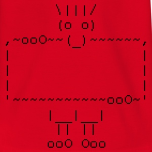 ascii art: troll + your text :-: - Camiseta adolescente