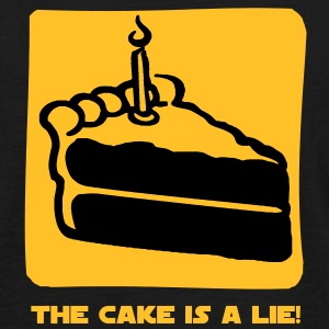 The Cake is a Lie T-shirts - T-shirt herr
