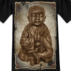 Buddhistischer Mönch - antique style | Kindershirt - Teenager T-Shirt