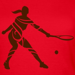 Tennis tribal T-Shirts - Dame-T-shirt