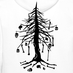 'Bones Tree' Sweat-shirt à capuche Homme - Sweat-shirt à capuche Premium pour hommes