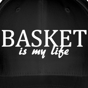 basket is my life Caps & luer - Flexfit baseballcap