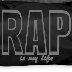 rap is my life Torby - Torba sportowa