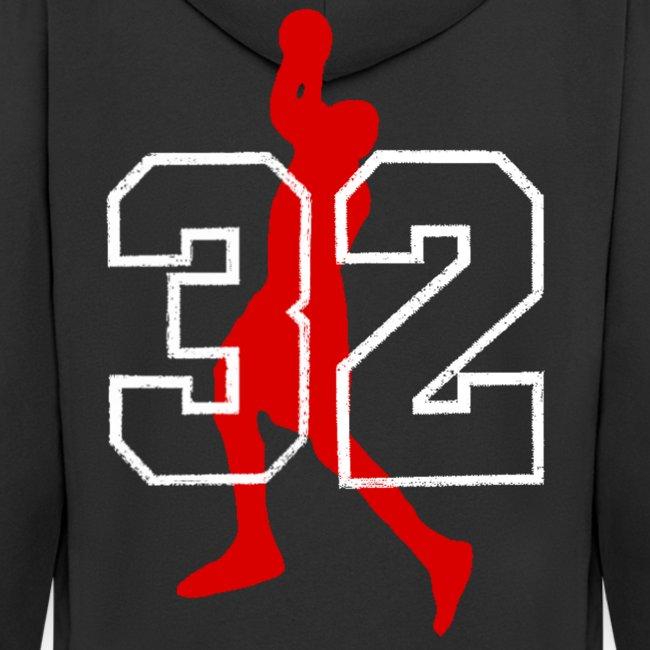 Veste à capuche homme basketball
