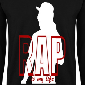 rap is my life Felpe - Felpa da uomo