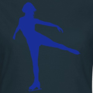 Ice Skating female - Women's T-Shirt