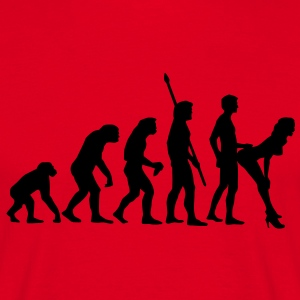 fucking_evolution_b Tee shirts - T-shirt Homme