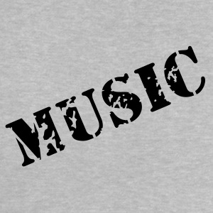 music as a stamp print design Baby Shirts  - Baby T-Shirt