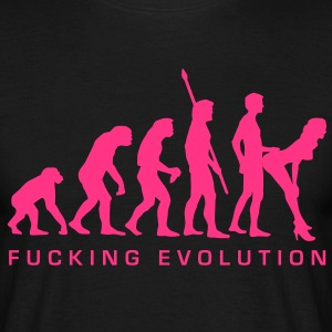 fucking_evolution Tee shirts - T-shirt Homme