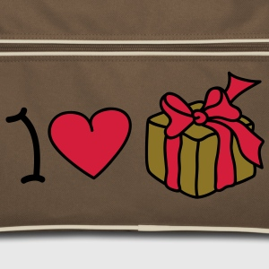 I love Gifts Bags  - Retro Bag