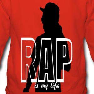 rap is my life Bluzy - Bluza damska Premium z kapturem