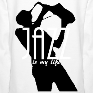 jazz is my life Sweatshirts - Dame Premium hættetrøje
