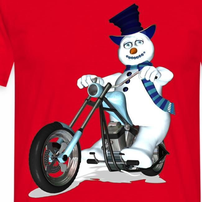 Biker Snowman