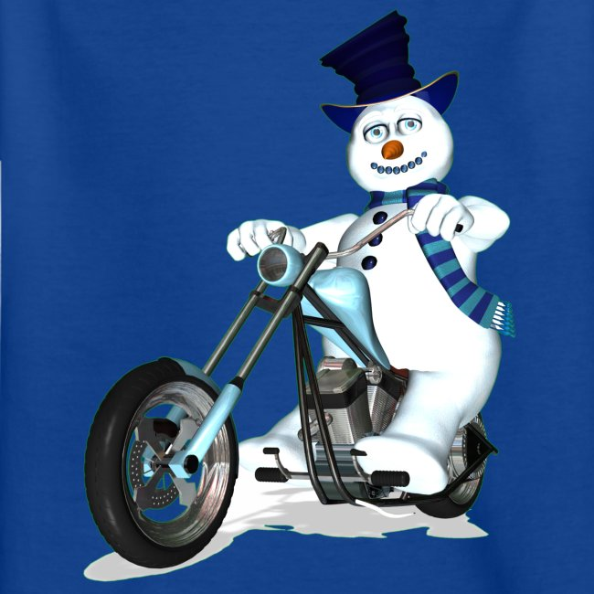 Biker Snowman (child)
