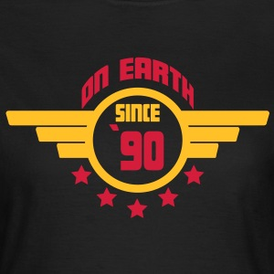 90_on_earth T-shirts - Dame-T-shirt