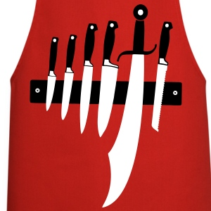 Chef's knife Grillmeißter sabers, meat cooks hard  Aprons - Cooking Apron