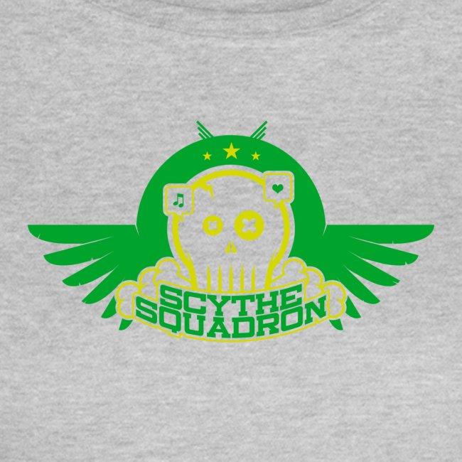 Scythe Squadron green print ladies