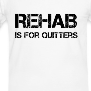 Rehab is for Quitters Tee shirts - T-shirt contraste Homme