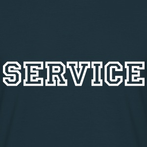 Service T-Shirts - T-skjorte for menn