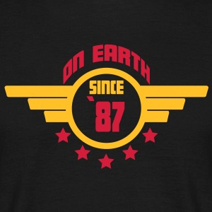 87_on_earth T-Shirts - Men's T-Shirt