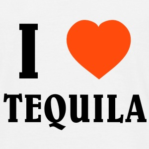 I Love Tequila T-shirts - Herre-T-shirt