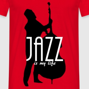 jazz is my life Camisetas - Camiseta hombre