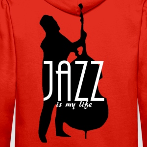 jazz is my life Sweatshirts - Herre Premium hættetrøje