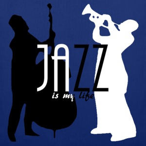 jazz is my life Borse - Borsa di stoffa
