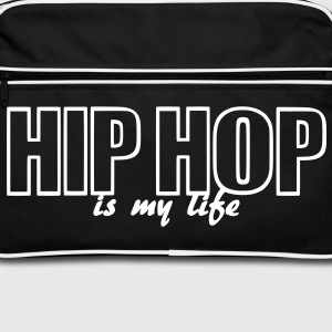 hip hop is my life Torby - Torba retro