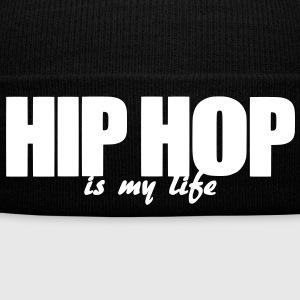 hip hop is my life Kepsar & mössor - Vintermössa