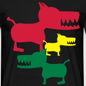 Monster Dog T-Shirts - Männer T-Shirt