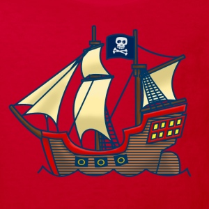 Piratskepp Barn-T-shirts - Ekologisk T-shirt barn