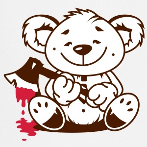 Bear with a bloody axe  Aprons - Cooking Apron