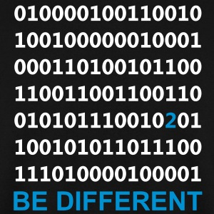 Be Different - Ser diferentes - Binario - Digital Sudadera - Sudadera hombre