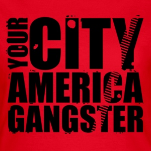 your city america gangster T-shirts - T-shirt dam