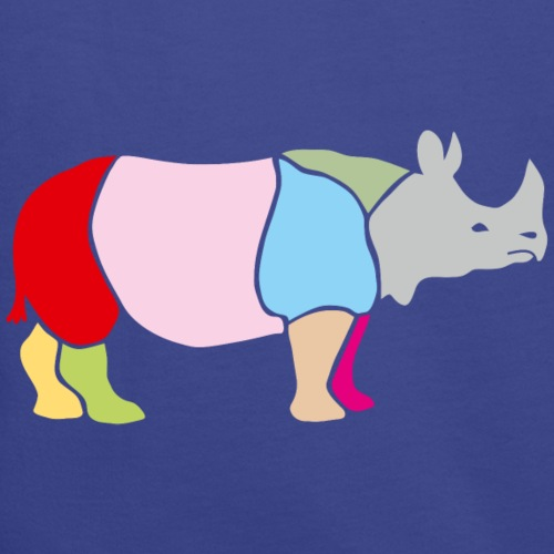 nashorn horn rhinozeros afrika tier wild serengeti bunt farben landkarte lustig fröhlich