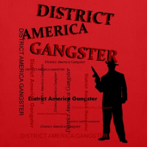 district america gangster Tassen - Tas van stof