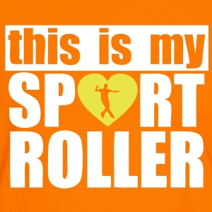 this is my sport roller Tee shirts - T-shirt contraste Homme