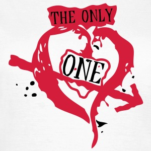 coeur only one1 Tee shirts - T-shirt Femme