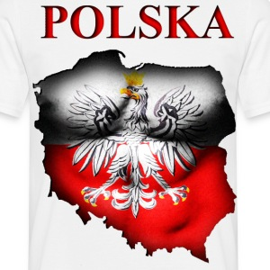 Poland - T-shirt herr