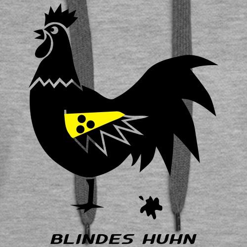 blindes huhn hahn gockel henne vogel hühner
