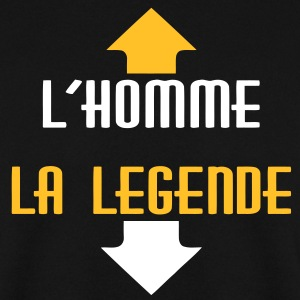 l'homme legende v2 (2c) Sweat-shirts - Sweat-shirt Homme
