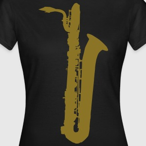 saxophone brass instrument music T-Shirts - Women's T-Shirt