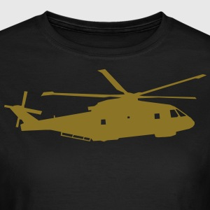 helicopter kids military rc T-shirts - Dame-T-shirt