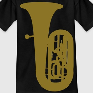 music tuba brass Kinder T-Shirts - Teenager T-Shirt